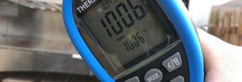 über 1000°C!